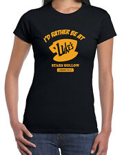 175 Lukes Diner womens T-shirt gilmore tv show girls coffee shop remi vintage