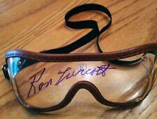 Ron Turcotte autograph Secretariat signed triple crown 1973 goggles