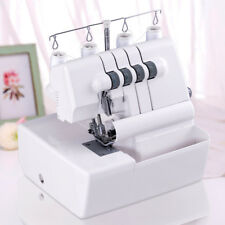 Overlock Serger Sewing Machine 2 Needle 4 Thread Capability w Differential Feed
