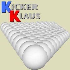 Art. 1610: Set Kickerbälle, 100 Stück, mittelhart, weiß