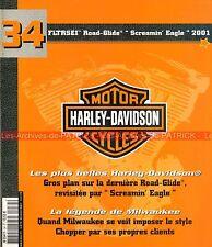 HARLEY DAVIDSON FLTRSEI 1550 Road Glide Screamin Eagle 2001 Histoire Chopper HD