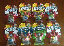 Hasbro Marvel Bonka Zonks Series 1 Lot of 8(Mystery Figure in Every Pack)