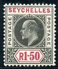 Seychelles Edward VII Era (1902-1910) Stamps