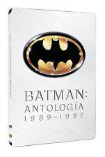 BATMAN VUELVE FOREVER ROBIN COLECCION PACK 4 DVD STEELBOOK NUEVO ( SIN ABRIR )