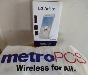 LG Aristo Box Metro PCS Smartphone Cell Phone Brochure & Box & Bag NO PHONE USA