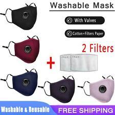 Reusable Anti Haze Fog Respirator Cotton Mouth Muffle Purifying Carbon Filter