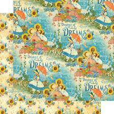 """Graphic 45 Dreamland - ENCHANTED GARDEN 12x12"""" D/sided Scrapbooking Paper"""