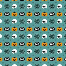 Printed Bow Fabric A4 Canvas Halloween Pumpkin Blackcats HW5 Make glitter bows