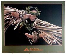 KATHY LONG - HULA POSTER - POHAKULANI - Moku O Keawe Festival Waikoloa, Hawaii