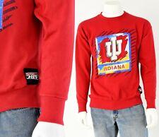 90s Vintage Mens L Red Indiana Hoosiers Sweatshirt Abc Sports