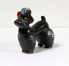 Figurine caniche vintage kitsch céramique japonaise