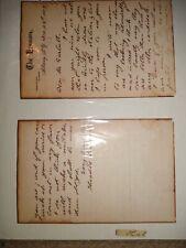 Handwritten Word By Theodore Roosevelt