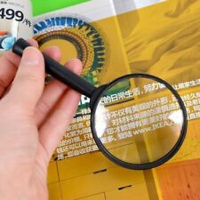 5X Magnifier Hand Held Magnifying Loupe Reading Glass Lens Jewelry Loupe 60mm