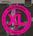 D'Addario ENR71-5 Half Round 5-String Bass Guitar Strings, Regular Light, 45-130 for sale
