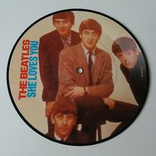 "The Beatles - She Loves You 7"" Vinyl Picture Disc Single 20th Anniversary NM"