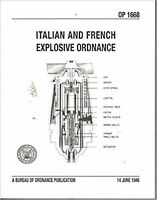 Italian And French Explosive Ordnance-14 giugno 1946 ( copia anastatica)