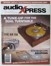 Audio Xpress Magazine - 2010 December - A Tune Up For The Dual Turntable