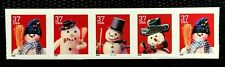 US Stamps SC#3683 37c Christmas  Plate#G1111 Coil Strip of 5 CV:$17.5