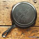 Antique GRISWOLD Cast Iron SKILLET Frying Pan # 5 LARGE SLANT LOGO - Ironspoon