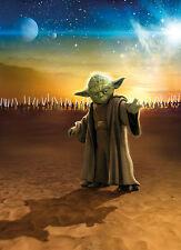 Star Wars Maestro Yoda Foto Wallpaper Mural 184x254cm Hecho En Alemania!