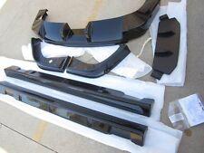 OEM 2005 2006 Kia Spectra Tuner Body Spoiler Kit Ground Effect Side Skirts BLACK