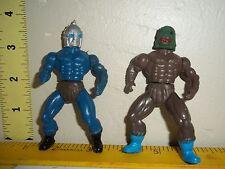 Vintage Galaxy Fighter Warriors Motu KO Mini RARE Action Figures remco ?