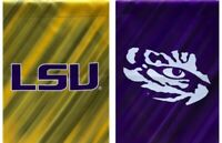 Louisana State University LSU Garden Flag 2 sided Tigers NCAA College Sports