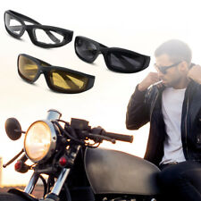 3 Paar Kit Choppers Motorradbrille gelbe Gläser Männer Frauen Bikerbrille MA1267
