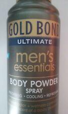 New listing Gold Bond ultimate mens essentials body powder spray nightfall scent 7 oz can