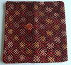 Vintage Turkish Kilim pillow cover (#37)
