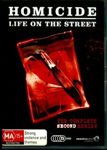 Homicide - Life On The Street - Second Series - DVD - Region 4 - FAST POST