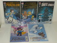 DARTH VADER Princess Leia LANDO Obi-Wan /& Anakin STAR WARS 5 Baby Variants