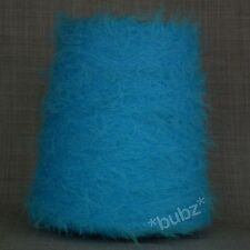Super Soft 4 capas de plumas de pestañas Hilo Brillante Aqua Blue 500g Cono 10 Ball Fancy