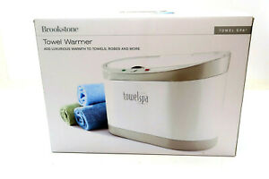 BROOKSTONE Towel and Robe Warmer Spa model 634063 in Original Box NEW NEVER USED