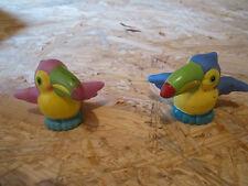 Fisher Price little people toucan bird exotic fly beak wings Noah ark pair pet
