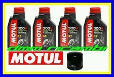 Kit Tagliando SUZUKI GSR 600 09>10 + Filtro Olio MOTUL 300V 10W/40 2009 2010