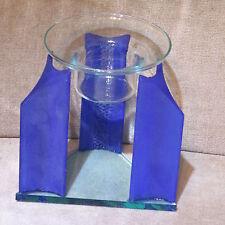 Duft - & Aromalampen  // Dreiecklampe // mit Glasschale +