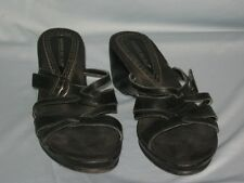 Montego Bay Club Wedges Womens Wedge Sandals Leather #SH24