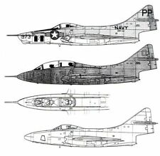 Airmodel Products 1/72 GRUMMAN F9F-6P or F9F-8T COUGAR Vacuform Conversion Kit