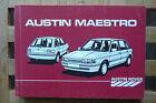 Austin Rover Maestro1985 Data guide. AKM 5324 3rd edition