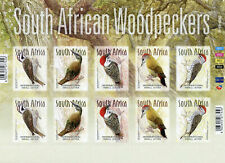 South Africa Birds Stamps 2020 MNH Woodpeckers Cardinal Woodpecker 10v S/A M/S