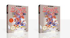 Blades of Steel NES Replacement Spare Game Case Box + Cover Art Work (No Game)