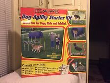 Dog Games Dog Agility Starter Kit Outdoor Games New - FREE SHIPPING USA