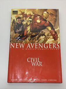 """New Avengers - No. 5 - Civil War - A Marvel Comics Event """"HARDCOVER"""" 2007"""