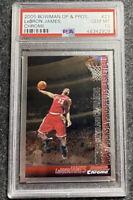 Lebron James 2005 Bowman Chrome #23 PSA 10 Lakers Cavs POP 60!🔥📈🔥Invest NOW!