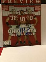 TROY SMITH SIGNED AUTOGRAPHED OHIO BUCKEYES 8X10 WITH COA