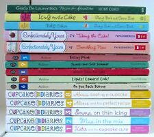 Lot 15 COOKING & CUPCAKE THEMED Children's Chapter Books dish diaries cake L1