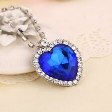classic movie Titanic Heart of Ocean women Necklace gift for lover