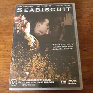 Seabiscuit DVD R4 Like New! FREE POST