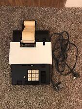 OLIVETTI Summa 19 Vintage Calculator (white) 1969-1970Ettore Sottsass and Hans